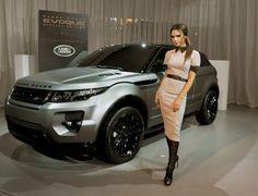 Victoria Beckham's Range Rover!