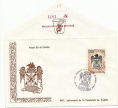 Peru First Day Cover- 1986  450th Anniversary Foundation of Trujillo- Scott 865