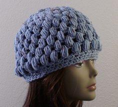 Puff Stitch Crochet Hat | Crochet Geek - Free Instructions and Patterns