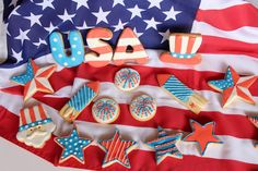 Galletas USA American Party, Sugar, Cookies, Desserts, Crack Crackers, Tailgate Desserts, Deserts, Biscuits, Postres