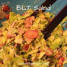 BLT Salad Recipe on Having Fun Saving and Cooking