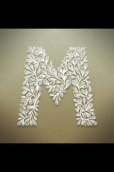 Typography: Botanical alphabet design by Seth Mach  https://www.behance.net/gallery/Botanical-Alphabet/5968409