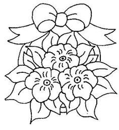 flores para colorear e imprimir gratis
