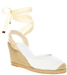 ShopStyle: ASOS HELENA Two Part Tie Up Espadrille