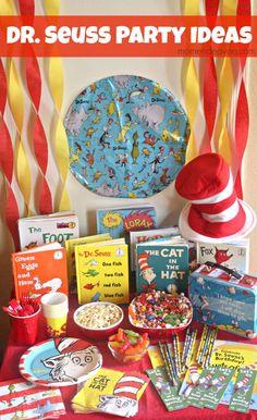 Dr. Seuss Party Ideas - simple & cute ideas for hosting a Dr. Seuss Party