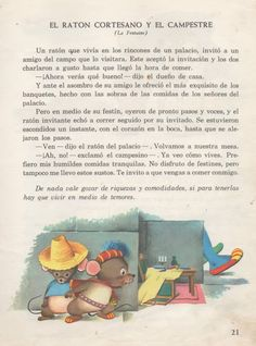 Raúl Stévano / Fábulas   ARCHIVO DE ILUSTRACIÓN ARGENTINA Spanish Classroom Activities, Learning Spanish For Kids, Spanish Language Learning, Teaching Spanish, Kids Learning, Classroom Ideas, High School Spanish, Ap Spanish, Spanish Lessons
