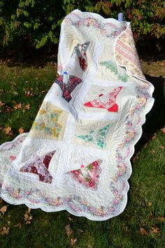 Hey, I found this really awesome Etsy listing at https://www.etsy.com/listing/207989482/handmade-handkerchief-quilt-butterfly