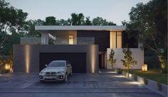 Home Exteriors modernos con espacios al aire libre impresionantes