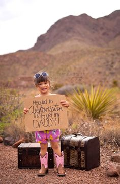 Military child photography session #military #family #afghanistan #photography