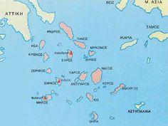 Ενότητα 8 - Εισαγωγή - Η εποχή του χαλκού στην Ελλάδα - Ο Κυκλαδικός πολιτισμός Map, Location Map, Maps