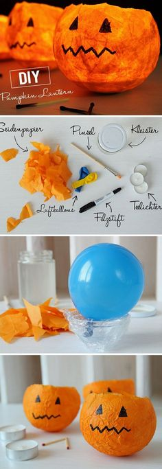 Cheap And Easy Fall Decorating Ideas That Will Light Up the Holidays Diy Fall Crafts diy easy fall tutorial crafts Easy Diy Crafts, Fall Crafts, Crafts Cheap, Halloween Diy, Halloween Decorations, Halloween Magic, Diy Halloween Dekoration, Decoration Chic, Manualidades Halloween
