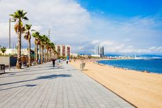 Top 10 Beaches in Barcelona, Spain Barcelona Spain Travel, Barcelona Beach, Barcelona Spain Beaches, Lanai Island, Island Beach, Tonga, Backpacking Spain, Best Island Vacation, Where Is Bora Bora