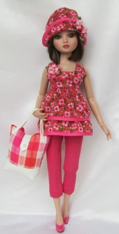 ELLOWYNE'S COMIN' UP ROSY OUTFIT, by ssdesigns via eBay, SOLD 4/12/15      BIN $49.99