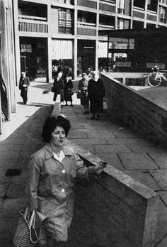 Park Hill Estate, Sheffield, England, 1961