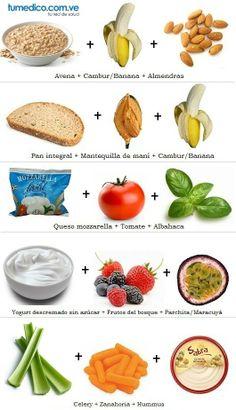 Meriendas saludables fáciles de hacer