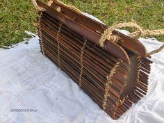 Bolso de bambú, 100 %  hecho a mano