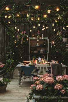 Magical out doors living spaces