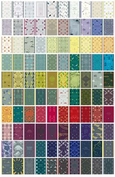 These books - the new English Library collection from Penguin - want to be a quilt