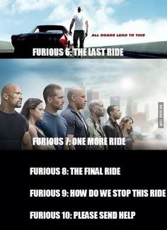 Hilarious fast and furious 9 memes Letty Fast And Furious, Fast And Furious Memes, Furious 6, Furious Movie, Vin Diesel, Funny Quotes, Funny Memes, Jokes, Funny Humour