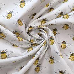 Buzzing Bee's Cotton Poplin