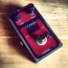 Noisemaker Effects Donner Party Fuzz - Killer fuzz pedal. Rich saturation with control.
