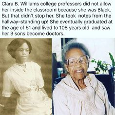 Woww...such determination!! 1st black American to graduate from New Mexico State University.