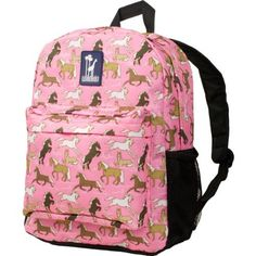 Wildkin Horses in Pink Crackerjack Backpack by Wildkin. Save 27 Off!. $23.27