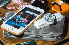 This. Is. Cake!!!  iPhone 6+, Alexander McQueen purse and Chanel watch. All handmade and edible by RoxyRara.com