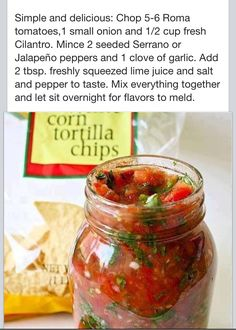 Love this recipe! We put salsa on everything!   Check out more food/nutrition/fit tips at facebook.com/lizblackfordBB
