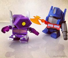 #onTOYSREVIL: More Teaser Peeks at #Transformers Mini Figures Series 2 from The Loyal Subjects
