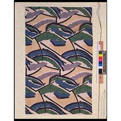 Furnishing Fabric, 1913 Vanessa Bell