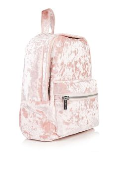 **Pink Velvet Mini Backpack by Skinny Dip http://feedproxy.google.com/fashiongobags4