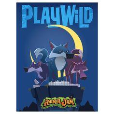 Animal Jam Epic Wolf Poster