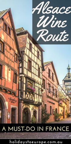 The Alsace Wine region must surely be one of the prettiest regions of France. In this article we explore the gorgeous village of Riquewihr - a member of France's Most Beautiful Villages organisation - and the surrounding villages that form part of the Alsace Wine Route.  #alsace #france #travel