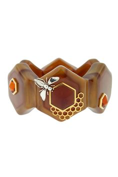 Honeycomb Cuff  What is sit with bees?