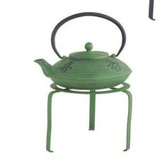 Chinese cast iron teapot.
