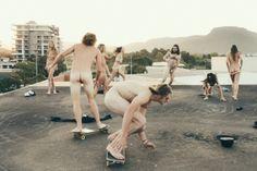skateboard // naked //