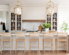Home decor, and furnishings, curated by the designers at Studio McGee. White Oak Kitchen, Barn Kitchen, Kitchen Redo, New Kitchen, Kitchen Remodel, White Coastal Kitchen, Kitchen Renovations, Kitchen Ideas, Kitchen Hood Design