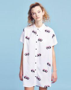 Lazy Oaf Googly Eyes Shirt