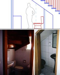 Saving Strange Spaces Small UnderStaircase Bathrooms Inside Elegant Small Space Toilets