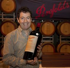 Peter Gago with Penfolds Grange. Barossa Valley, South Australia. Image © Dragan Radocaj Photography. #Barossa #BarossaWine #Wine