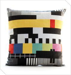 Shop South African Design | TV Signal Cushion | Meekel
