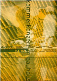 Bauhaus Dessau - Cyan, Berlin, 1994
