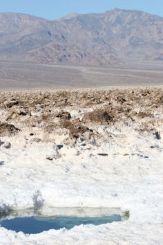The Salt/Saline Pools of the Devil's Golf Course, Death Valley National Park — The Last Adventurer