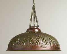 antique mercury glass pendant lights - Google Search
