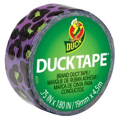 Ducklings™ Mini Rolls - Cool Cheetah http://duckbrand.com/products/duck-tape/prints/mini-rolls/cool-cheetah-75-in-x-180-in?utm_campaign=color-duck-tape-general&utm_medium=social&utm_source=pinterest.com&utm_content=duct-tape-mini-rolls