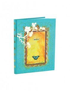 Papaya Art Large Journal -Begin