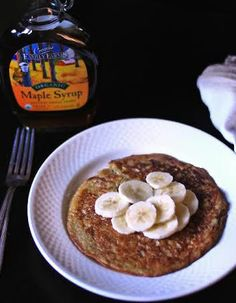 Gluten and Grain Free Banana Pancake(s) for One Lady (or Sir) | Forbidden Rice Blog