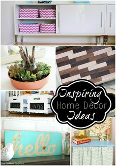 52 Mantels: 16 DIY Home Decor Ideas! {features}