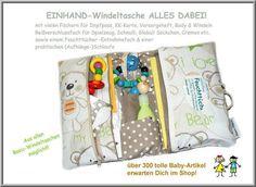 Wickeltaschen - Windeltasche ALLES DABEI - ein Designerstück von Feludara-Design bei DaWanda